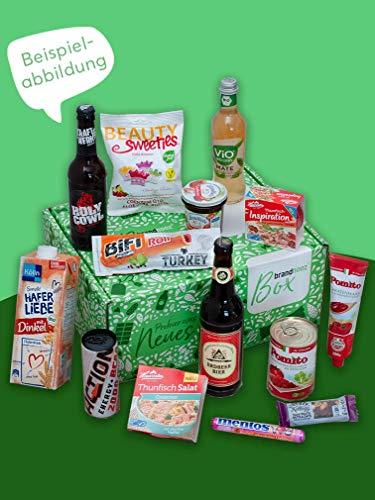 brandnooz - Geburtstagsbox | leckere Geschenkbox| Essen| Trinken| leckere Lebensmittelneuheiten von bekannten Marken | garantierter Warenwert von mind. 25€