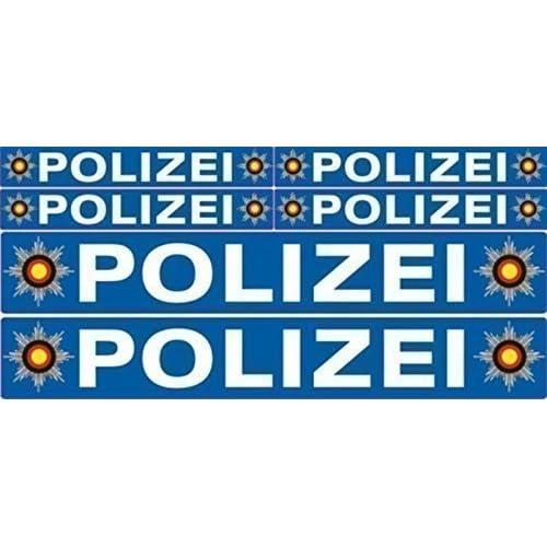 Aufkleber Polizei Amazonde