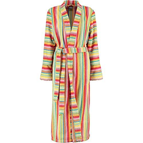 Michaelax-Fashion-Trade Cawö - Damen Walkfrottier Bademantel mit Schalkragen (7080), Größe:44, Farbe:Multicolor (25)