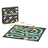 Petit Collage Catventures Board Game for Kids – Fun Cat Board Game for 2-4 Players, Made from Recycled Materials and Vegetable-Based Inks – Makes a Great Gift for Cat Lovers