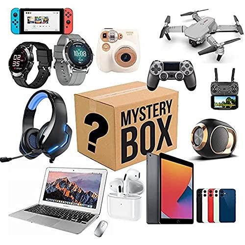 ZQW Artículos afortunados for la Caja electrónica, My/STERY, Primero, se Sirve por Primera Vez, Mystery Box Electronics aleating, rentable, Primero, llega al Azar.