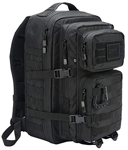Brandit US Assault Rucksack Black Large