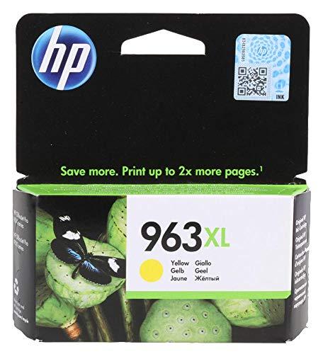 Tintenpatrone, 3Ja29Ae, Nr. 963XL, Gelb, Original-Typennummer 3Ja29Ae, Tintenfarbe Gelb, für HP,963, OEM-Referenz Hp963Yxl