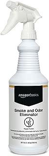 AmazonBasics Professional Smoke and Odor Eliminator Spray, 32 Ounces, 6-Pack