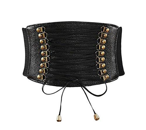 Oyccen Retro Mujer Ancho Corsé Cintura Cinturón Elásticos Cinturones para Vestidos