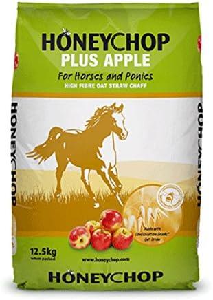 Honeychop Plus Apple para Caballos y Ponis, 12,5 kg