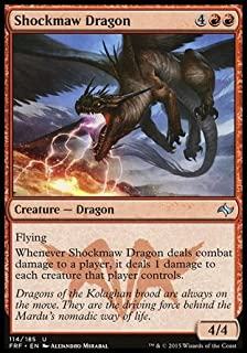 Magic: the Gathering - Shockmaw Dragon (114/185) - Fate Reforged