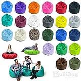 2in1 Sitzsack 3 Größen & 32 Farben wählbar 2-in-1 Funktionen mit Füllung...