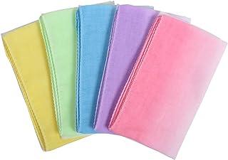 Fluffy(フラフィ) ぼかしカラー手ぬぐい バリエーション ガーゼ 5枚セット 日本製 綿100% 33×75cm