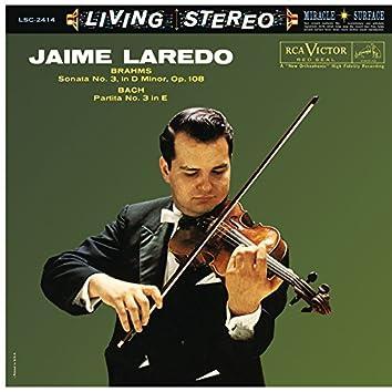 Jaime Laredo Plays Brahms & Bach