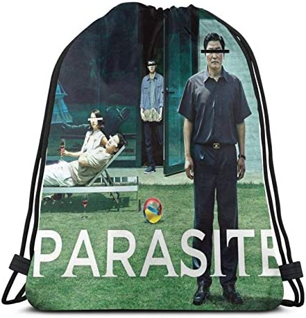 Parasite Poster Sport Sackpack Trekkoord Rugzak Gym Bag