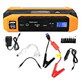 KIMISS Portable 12V Voiture Jump Starter Chargeur de Batterie 20000mAh Batterie Externe Multifonction(European regulations)