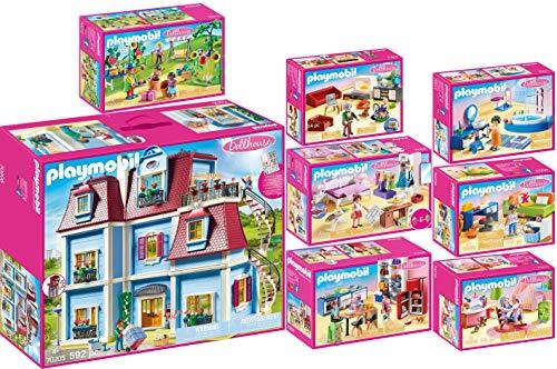PLAYMOBIL Dollhouse Set en 8 parties 70205 70206 70207 70208 70209...