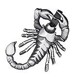 MATERIA gioielli scorpione ciondolo 24 x 43 mm - 925 argento viennagold uomo viennagold pe...