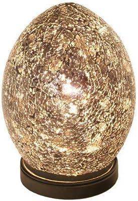 quot 3er korbset heart shape quot metal easter basket small.htm mosaic egg lamp  glass yellow gold medium amazon co uk lighting  mosaic egg lamp  glass yellow gold
