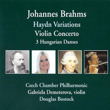 Gabriela Demeterová - Haydn Variations, Violin Concerto, 3 Hungarian Danses