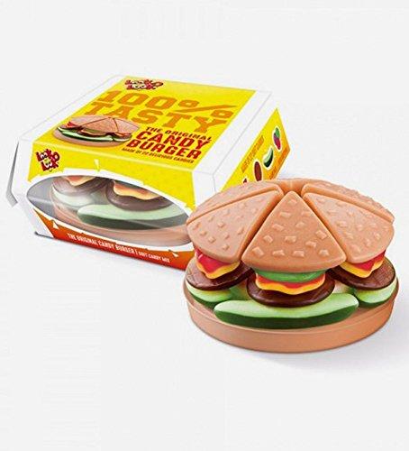 Caramelo suave | Look-O-Look | La hamburguesa de caramelo original | Peso total 130 gramos