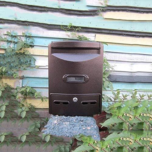 Brievenbus Mail Box Regendichte Waterdichte Outdoor Brievenbus Postvak General Manager Suggestion Box Wandmontage Bericht Box Lock Postbus Beveiliging mailbox