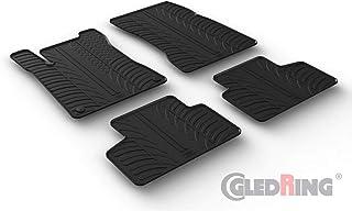 Gledring 0511 Satz Gummimatten passend für Mercedes GLB (X247) 11/2019  (T Profil 4 teilig + Montage Clips)