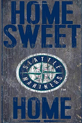 Seattle Mariners Project Planner Lined Notebook Journal.