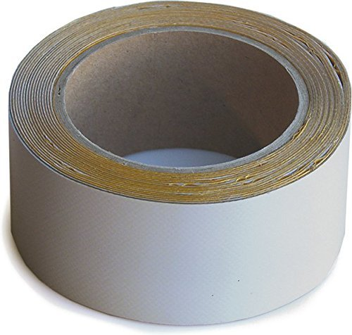 WUPSI PVC Reparatur Klebeband Für Alle Planen Und Folien,grau 5 Cm X 5 M