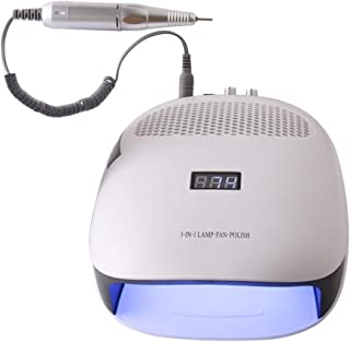 Professional Intelligent Phototherapy Dust Removal Nail Machine 42 Lamp Beads Double Fan 120W Vacuum Cleaner Nail Machine