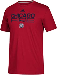 adidas Men's Chicago Fire Alternate Locker Room SS Tee