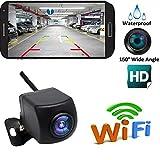 KKmoon Caméra de Recul Sans Fil HD, WIFI Caméra de Recul pour Voiture, Caméra de Recul WiFi avec...