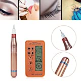 Macchinetta per tatuaggi permanente con penna a matita per trucco, occhi, labbra e sopracciglia, di solito non sanguina, micropigmentazione permanente del tatuaggio con dispo(EU)