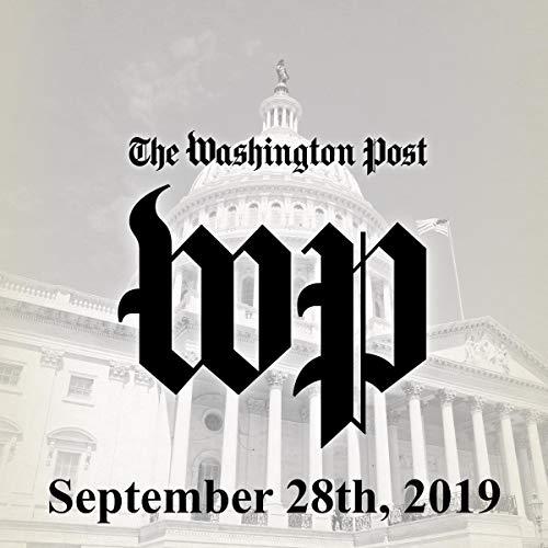 September 28, 2019 copertina