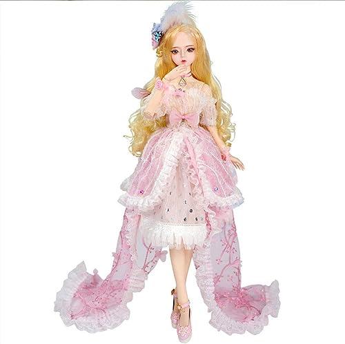 Todo en alta calidad y bajo precio. MEMIND Exquisito Doll Doll Doll 60 cm 3 1 Bjd Doll Anime Style Doll Fashion Doll Festival Regalo de Cumpleaños  gran venta