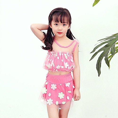 Axiba 4-8 jaar oude kinderen badpak meisje rok badpak C