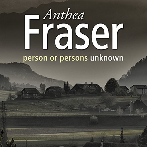 Person Or Persons Unknown audiobook cover art