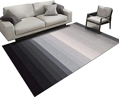 Carpet Mat Polyester Soft Nordic Modern Non-Slip Machine Washable Rugs (Color : C, Size : 200 * 300cm)