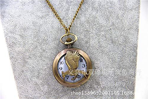 Reloj de bolsillo grande The Hunger Games 2 Sinsajo de...