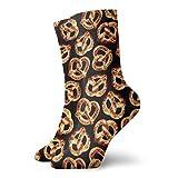 U Shape pazzi unisex Salatini pretzel Pretzel 3D Calzini dell'equipaggio della novità 3D