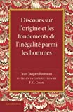Discours sur l'origine et les fondements de l'inegalite parmi les hommes by Jean-Jacques Rousseau (2014-09-03) - Cambridge University Press - 03/09/2014