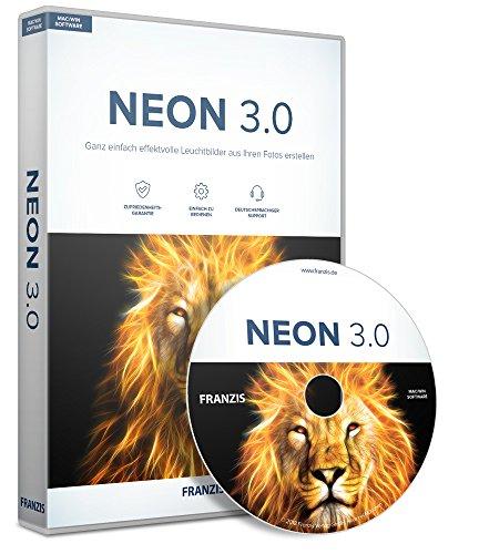 FRANZIS Neon 3.0 3.0 3 Geräte - Windows 10/8.1/8/7 & Mac OS X ab 10.7 Disc Disc