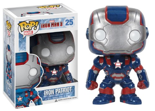 Funko POP!: Marvel: Iron Man 3: Iron Man Iron Patriot