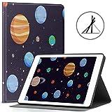 Étui pour iPad 9.7 Mercury Travel Around Planet Fit 2018/2017 iPad 5e/6e génération, iPad 9.7...
