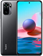 Xiaomi Redmi Note 10 | 128GB 4GB RAM | GSM LTE Factory Unlocked Smartphone | International Model (Onyx Gray)