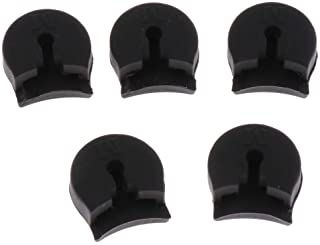 D DOLITY Practical 5Pcs Clarinet Thumb Finger Rest Cushion Protection Woodwind Instrument Accessory