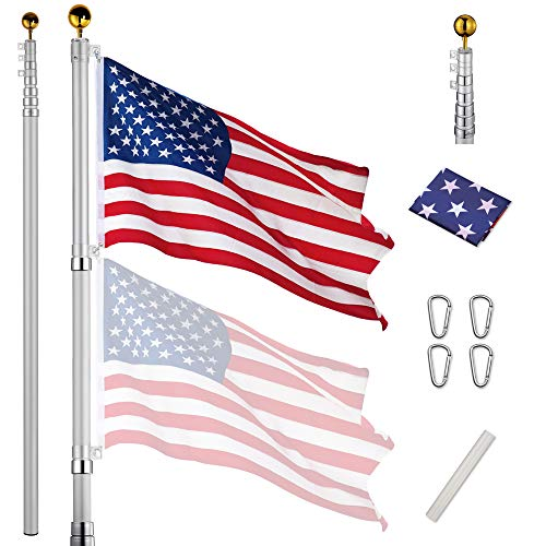 Yeshom Telescopic Flagpole Kit