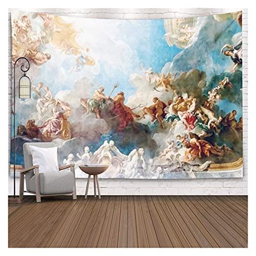Tapiz Pintura de Techo en Hércules Habitación de The Royal Chateau Versalles para Tapices de Coloridos Dormitorio Decoración de Arte (Color : 230X150 cm)