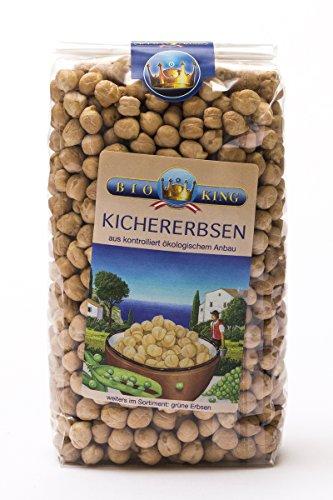 BioKing 4x 500g Bio KICHERERBSEN (EUR 2,79/Pkg.)