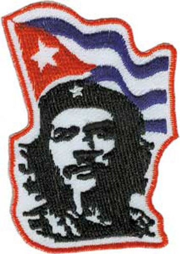 CHE GUEVARA FLAG, Officially Licensed, Iron-On / Sew-On, Embroidered PATCH