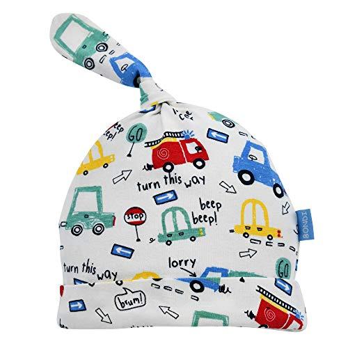 BONDI Mütze ´Fahrzeugallover´, alloverprint cars 45 Hallo Baby Boy Artikel-Nr.93509