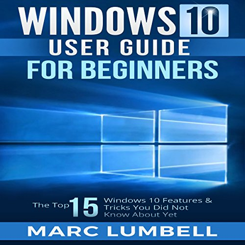 Windows 10 User Guide for Beginners audiobook cover art
