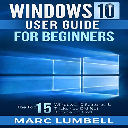 Windows 10 User Guide for Beginners cover art