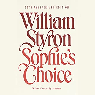 Sophie's Choice audiobook cover art